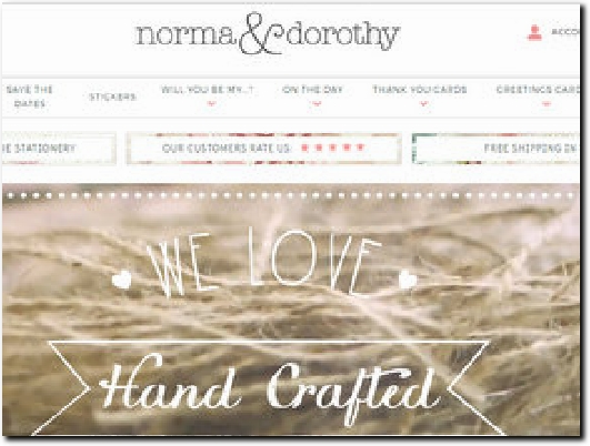 https://www.normadorothy.com website