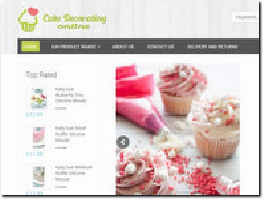 https://www.cakedecoratingonline.co.uk/ website