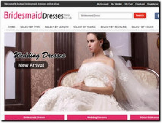 http://www.bridesmaiddressesbuy.co.uk website