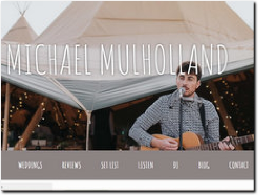 https://www.michaelmulhollandacoustic.com website