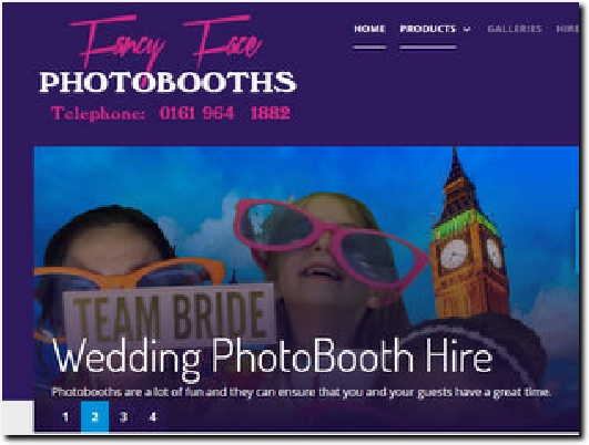 http://www.fancyfacephotobooths.co.uk website