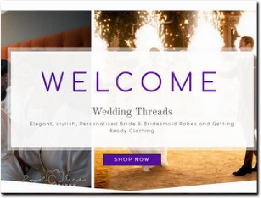 http://www.weddingthreads.co.uk website
