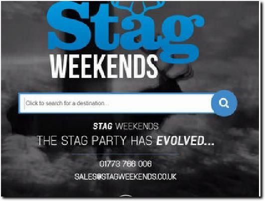 https://www.stagweekends.co.uk website