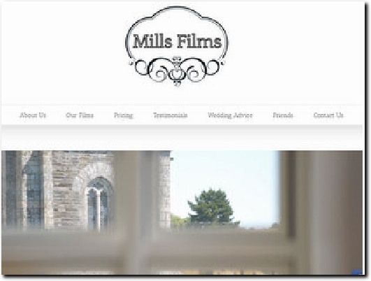 https://millsfilms.co.uk website