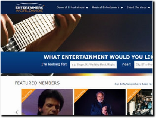 https://www.entertainersworldwide.com website