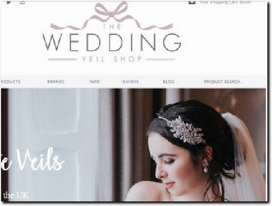 https://theweddingveilshop.co.uk/ website