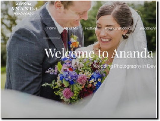 http://anandaweddings.co.uk website