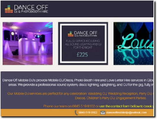 https://www.danceoffmobiledjs.co.uk website