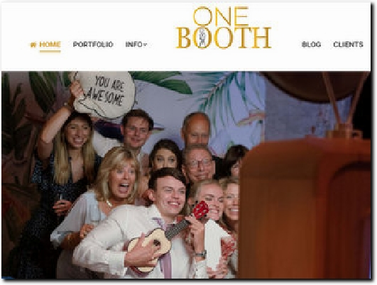 http://www.onebooth.co.uk website