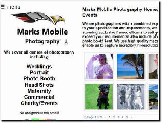 https://www.marksmobilephotography.co.uk website