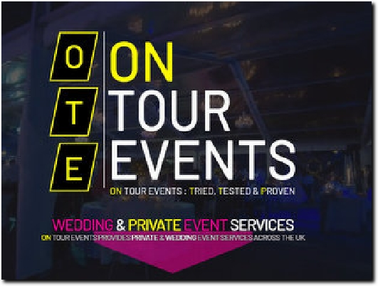 https://www.ontourevents.co.uk website