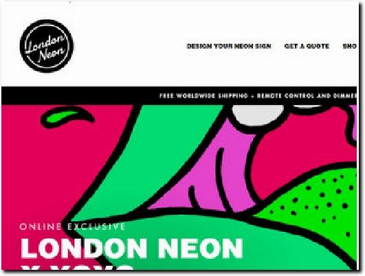 http://londonneon.co.uk website
