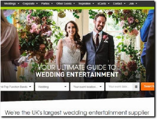 https://www.alivenetwork.com/wedding-entertainment website