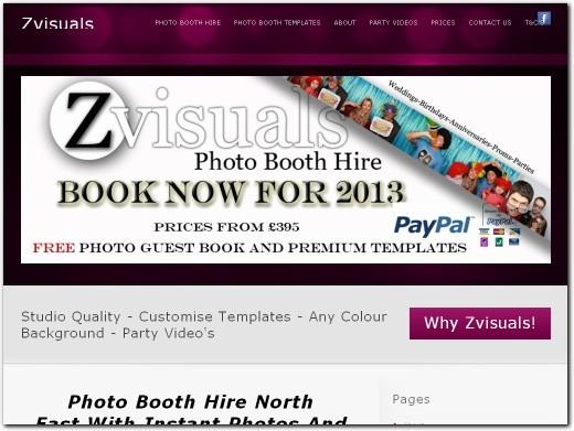 http://www.zvisuals.co.uk website