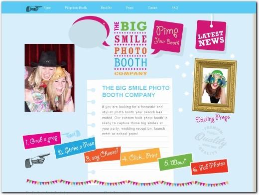 http://www.bigsmilephotobooths.co.uk website