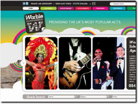 http://www.warble-entertainment.com website