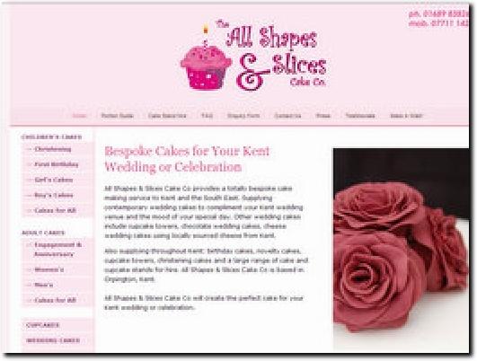 http://www.allshapesandslices.co.uk website