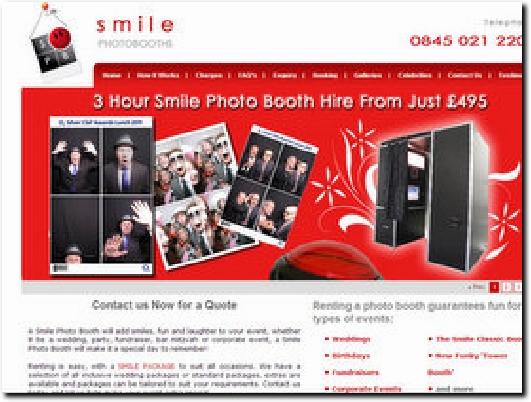 http://www.smilephotobooths.co.uk website