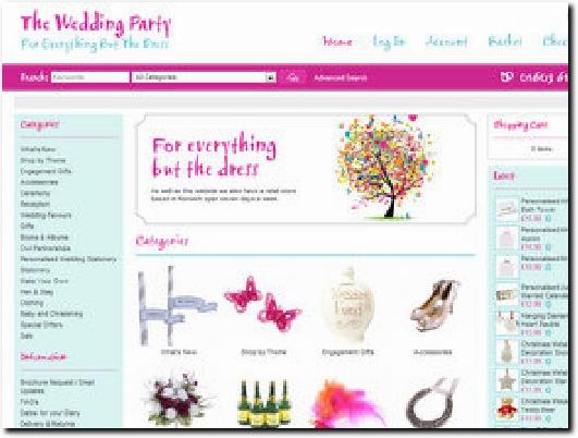 http://www.theweddingparty.co.uk website