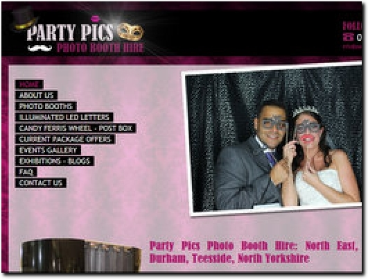 http://www.partypicsphotobooths.co.uk website