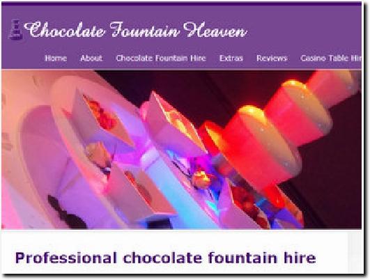 http://www.chocolatefountainheaven.co.uk website