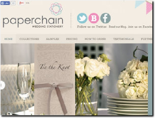 http://www.paperchainweddingstationery.co.uk website