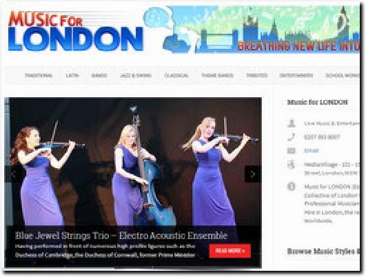 http://musicforlondon.co.uk website