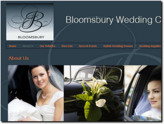 http://www.bloomsburyweddingcars.co.uk website